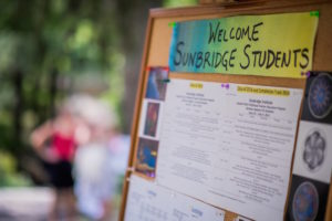 Welcome Sunbridge Students P1220904